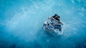 Laguna blu Islanda Immagini Stock