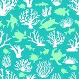 Laguna blu magica Immagine Stock