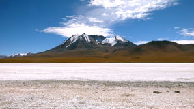 Laguna in Bolivian Altiplano, South America. Stock Photos