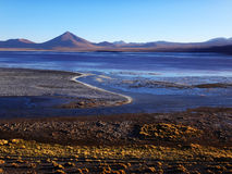Laguna Chalviri en Bolivia Royaltyfri Fotografi