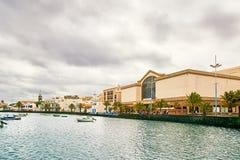 Laguna Charco de SAN Gines Arrecife Στοκ φωτογραφίες με δικαίωμα ελεύθερης χρήσης