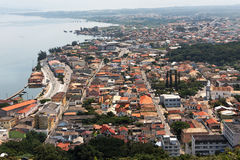 Laguna City and Landscape Santa Catarina Brazil Royalty Free Stock Image
