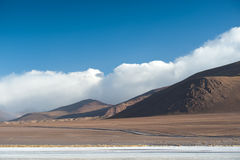 Laguna Colorada. This image shows the landscape around Laguna Colorada in Bolivia Stock Image