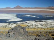 Laguna Colorada, Altiplano, Bolívia Imagem de Stock Royalty Free