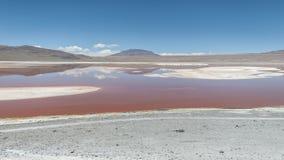 Laguna Colorada - Bolivië Royalty-vrije Stock Afbeeldingen