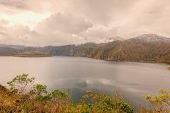 Laguna Cuicocha, Lake Of Guinea Pigs, Ecuador Royalty Free Stock Photos