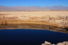 Laguna dans le désert d'atacama Photo libre de droits