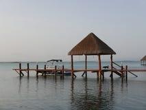 Laguna de Bacalar Photos stock