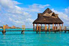 Laguna de Bacalar Lagoon in Mayan Mexico Royalty Free Stock Image