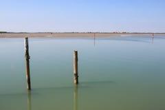 Laguna de Bibione Imagenes de archivo