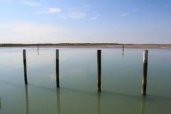 Laguna de Bibione Fotografía de archivo
