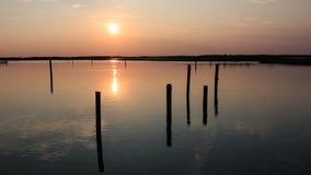 Laguna de Bibione Imagen de archivo libre de regalías