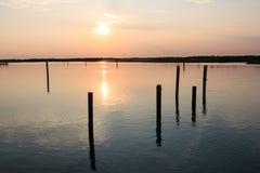 Laguna de Bibione Imagen de archivo