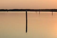 Laguna de Bibione Foto de archivo libre de regalías