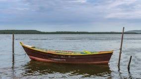 Laguna de Conceicao en Florianopolis, el Brasil Imágenes de archivo libres de regalías