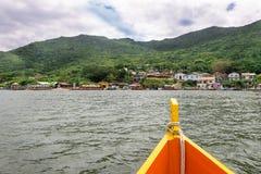 Laguna de Conceicao en Florianopolis, el Brasil Fotos de archivo libres de regalías
