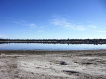 Laguna de Hanson immagine stock