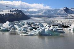 Laguna de Jokulsarlon Fotografía de archivo libre de regalías