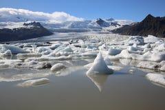 Laguna de Jokulsarlon Imagen de archivo libre de regalías