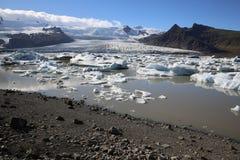 Laguna de Jokulsarlon islandia Imagen de archivo libre de regalías
