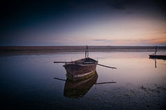 Laguna de la flota Foto de archivo