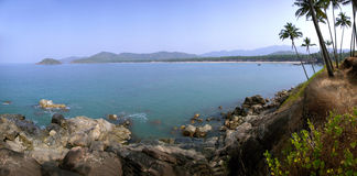Laguna de la playa de Palolem, Goa. Fotos de archivo