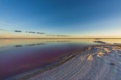 Laguna de la sal, La Pampa, foto de archivo libre de regalías