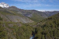 Laguna de Laja National Park, Chile Royalty Free Stock Photography