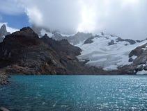 Laguna de los tres в glaciares los парка в Патагонии Стоковое фото RF