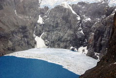 Laguna de Los Tres Στοκ εικόνες με δικαίωμα ελεύθερης χρήσης