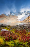 Laguna de Los Tres Royalty Free Stock Photos