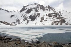 Laguna De Los Tres, El Chalten, Argentyna Zdjęcie Royalty Free