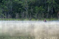Laguna de Pacchen Foto de archivo libre de regalías