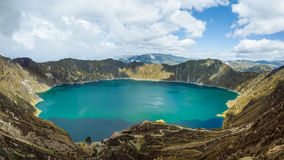 Laguna de Quilatoa Stock Image