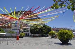 LAGUNA DE SANTIAGO, La Gomera, Canary island, Spain Royalty Free Stock Photo