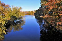 Laguna de Storrow foto de archivo