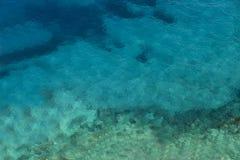 Laguna del agua azul Fotografía de archivo