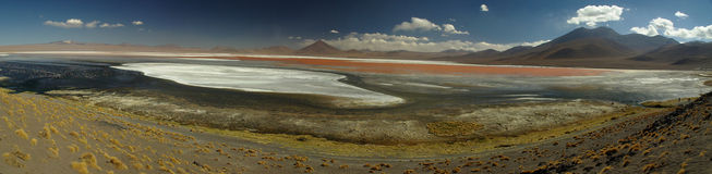 Laguna del deserto di Uyuni Immagine Stock
