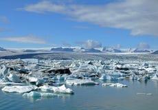 Laguna del ghiacciaio Immagini Stock Libere da Diritti