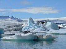 Laguna del ghiacciaio Immagini Stock