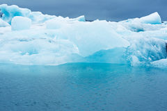 Laguna del ghiacciaio Fotografie Stock
