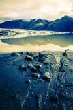 Laguna del ghiacciaio di Fjallsarlon Immagine Stock