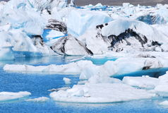Laguna del glaciar Fotografía de archivo libre de regalías