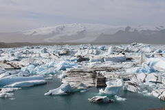 Laguna del glaciar Imagenes de archivo
