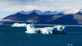 Laguna del glaciar de Islandia foto de archivo libre de regalías