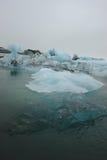 Laguna del glaciar, Jokulsarlon, Islandia Fotografía de archivo