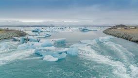 Laguna del hielo Fotos de archivo