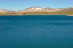 Laguna del Inca, Chili Photos libres de droits