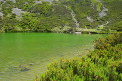 Laguna del Pozo Negro & x28 Burgos, Spain& x29  2 Στοκ φωτογραφία με δικαίωμα ελεύθερης χρήσης