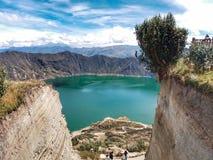Laguna del Quilotoa royalty-vrije stock foto